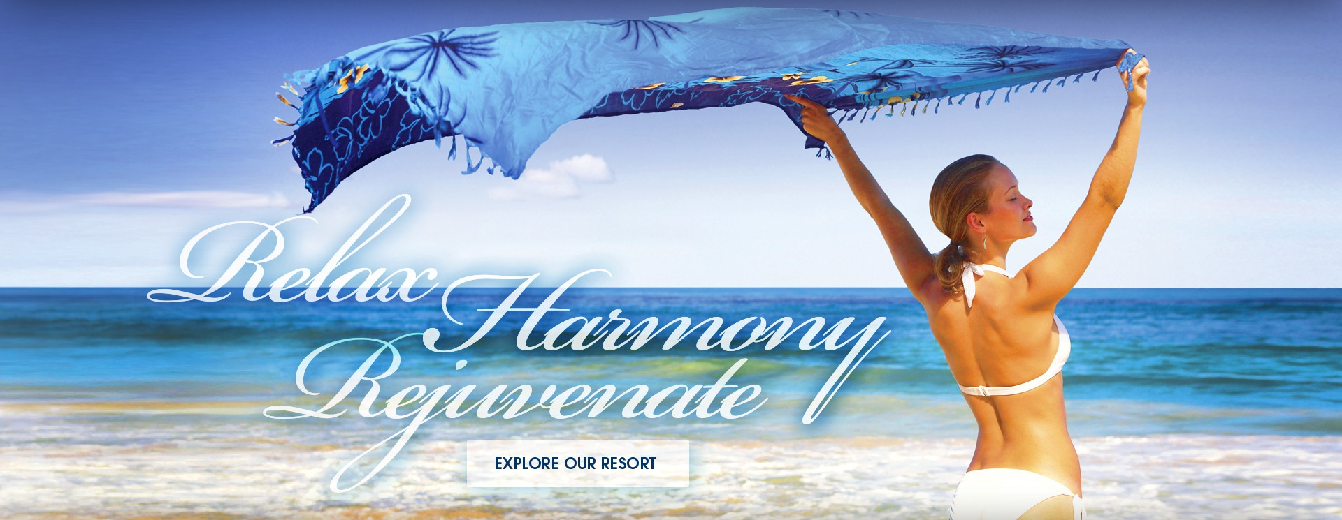 Relax, Harmony, Rejuvenate on the beach