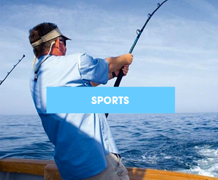 Charter fishing and sports